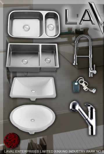 LI-BS-KF-01 - Laval luxury kitchen sinks and faucets - Official ...